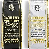 NIEUW | GUGGENHEIMER KOFFIE | Koffiebonen Proefverpakking 1 kg | Supreme 500g & Gourmet Arabica 500g | weinig zuurgraad...