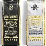 NEU | GUGGENHEIMER COFFEE | Kaffeebohnen Probierpaket 1 kg | Supreme 500g & Gourmet Arabica 500g | wenig Säure & Bitterstoffe | Feinste Crema | Bester Espresso...