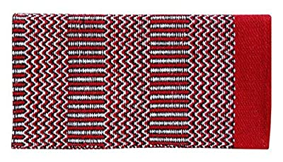 CHALLENGER 34 x 64 Western Show Trail Horse Acrylic Double Weave Saddle Blanket Pad 3703
