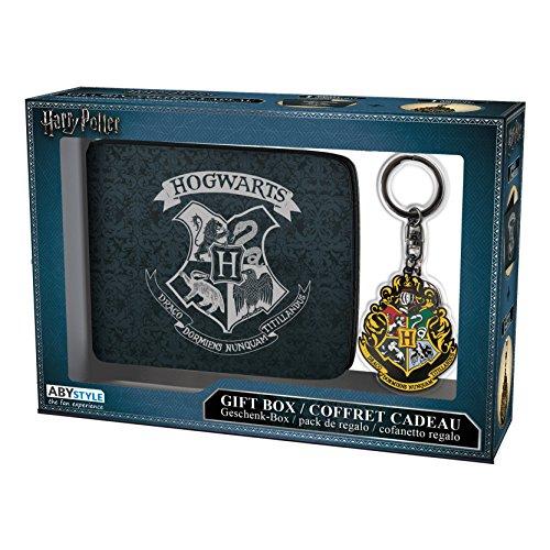 ABYstyle Harry Potter - Pck Wallet + Keyring 'Hogwarts'