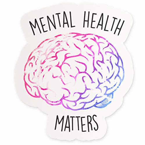 """Mental Health Matters Vinyl Sticker 