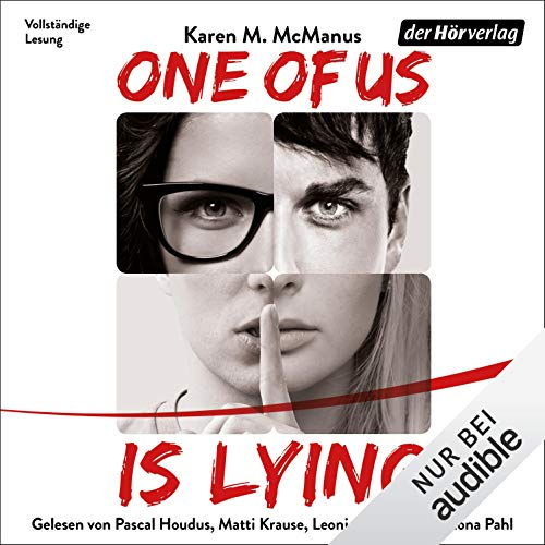 One Of Us Is Lying (German edition)  By  cover art