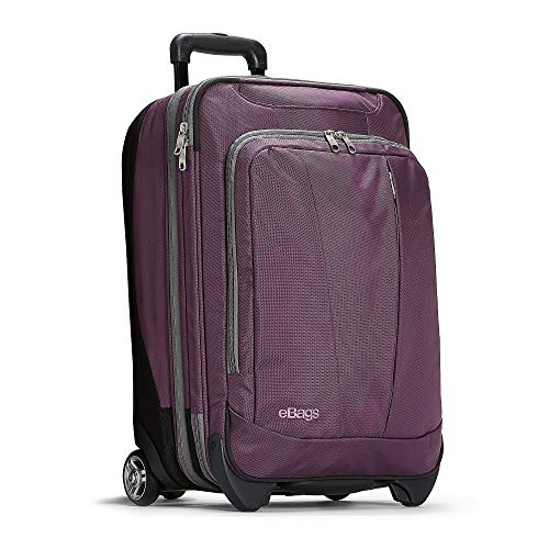eBags Mother Lode 22 Inches Carry-On Roller (Eggplant)