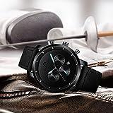 Zoom IMG-2 megalith orologio uomo nero cronografo