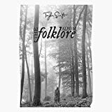 The Folklore-Swift Taylor Home Decor Wandkunst drucken