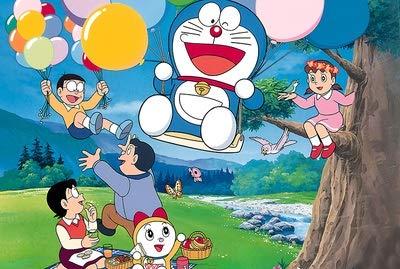 DyAn Rompecabezas de Madera, Manga Doraemon Puzzles, Adulto descompresión Juguetes, Gran Rompecabezas, Juguetes educativos for niños, 300/500/1000/1500 Piezas (Size : 300pc)