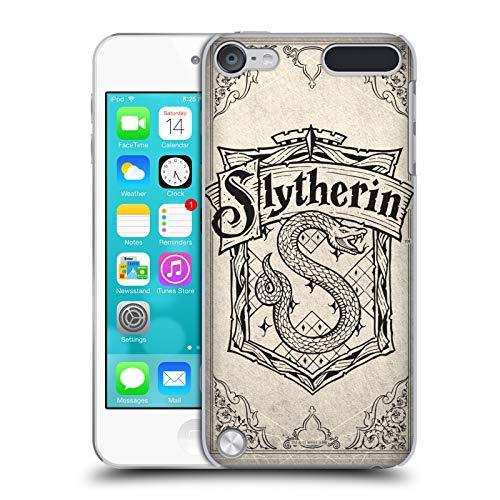 Head Case Designs Ufficiale Harry Potter Slytherin Pergamena Sorcerer's Stone I Cover Dura per Parte Posteriore Compatibile con iPod Touch 5G 5th Gen