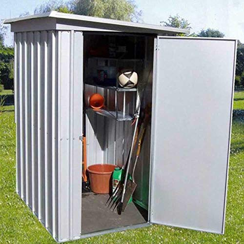 Yardmaster 54PEZ 5 x 4 Pent Metal Garden Shed - Assembly Service Available