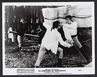 8x10 Photo~ The Adventures SCARAMOUCHE ~1964 ~Gerard Barray ~Sword Fight