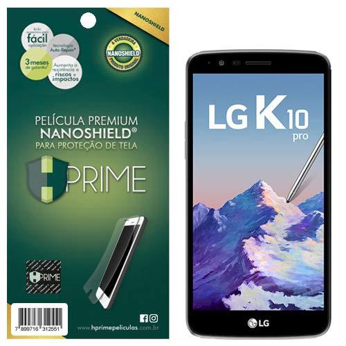 Pelicula HPrime NanoShield para LG K10 Pro, Hprime, Película Protetora de Tela para Celular, Transparente