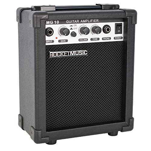 ROCKET GA10E 10W Guitar Amplifier - Black