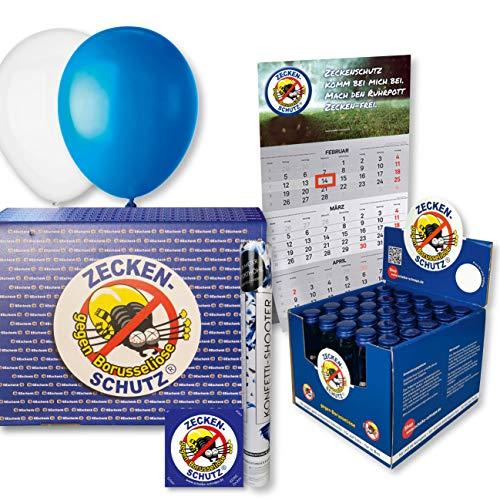 Zeckenschutz gegen Borusseliose Schalke-Schnaps Geschenkbox Consol