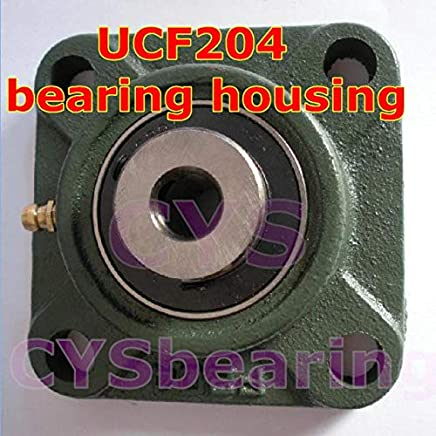 "Qty.1 1-1//8/"" UCF206-18 Quality square flanged UCF 206-18 Pillow block bearing"