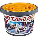 MECCANO - BARIL 150 PIECES MECCANO JUNIOR - 5 Modèles Différents A Construire - Jeu de Construction Avec 2 Outils - 6055102 - Jouet Enfant 5 Ans Et +