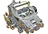 Proform 67255 Street Upgrade Series 650 CFM Polished Aluminum Dual Inlet 4-Barrel Square Bore Mechanical Secondary Carburetor with Electric Choke