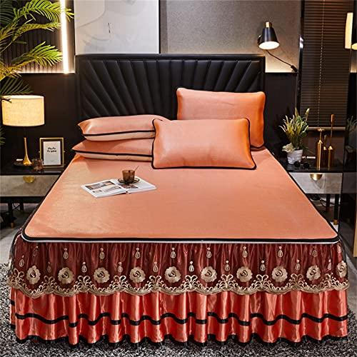 CHLDDHC Bett Blatt Bett Röcke Bett...