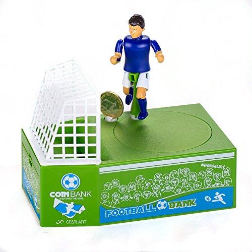 Cook shark Banco lindo monedas fútbol caja