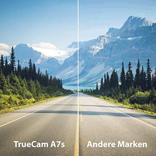 TrueCam A7s GPS Professionelle Dashcam Autokamera 2K Super HD - 9