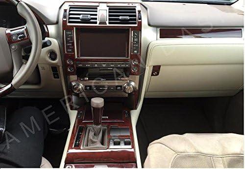 Interior BURL Product Wood New item Dash Trim KIT Set for 2014 460 Lexus GX460 GX
