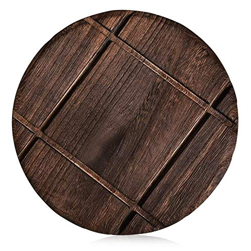 3 Pack Best Wood Trivet for Countertops 7.5 inch Dining Table Kitchen Trivet Decorative Wooden Trivets Pot Trivet Round Vintage Stove Trivets