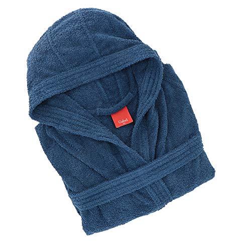Gabel 09100 290 - Albornoz para Adulto, 100% algodón, Azul, Talla S