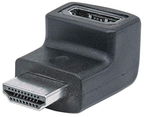 Manhattan–Adattatore HDMI angolare HDMI a Femmina a a Maschio ad Angolo retto Verso l' Alto 353502