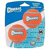 Chuckit Ultra Ball Jouet pour Chien Adulte, 2 Pièces Taille S