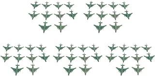 B Blesiya 50pcs Maqueta de Avión de Combate Militar Plástico Realista Colecciones Decoración para Hogar Escritorio