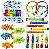 JOYIN 20 Pcs Diving Pool Toys Set with Bonus...