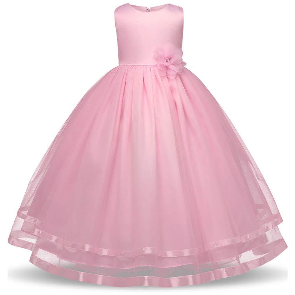 Mädchenhochzeitskleid Mädchen Kleid Kinder Geburtstagsparty Kleid