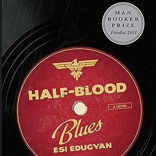 Half-Blood Blues audiobook cover art