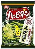 亀田製菓 ハッピーターンえだ豆味 81g ×12袋