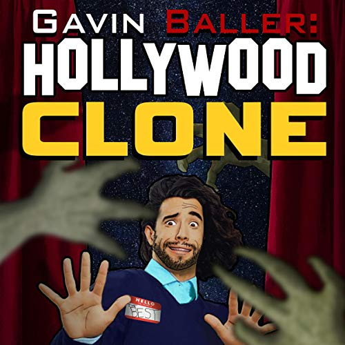 The Hunt for the Hollywood Clone audiobook cover art
