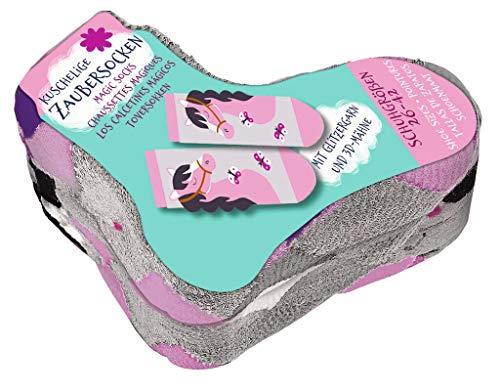moses. Unisex Kinder Zaubersocken Pferde Socken, Pink, 26-42