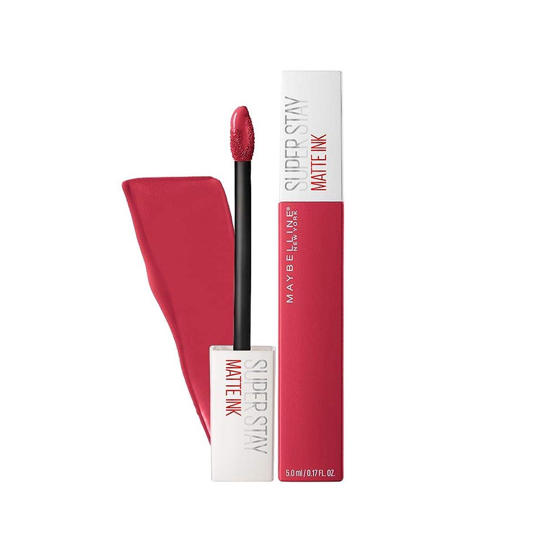 用心する放散する無視できるMAYBELLINE SuperStay Matte Ink - Ruler (並行輸入品)