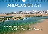 Andalusien - Landschaften rund um Conil de la Frontera (Wandkalender 2021 DIN A4 quer): Landschaften eines andalusischen Küstenorts (Monatskalender, 14 Seiten )
