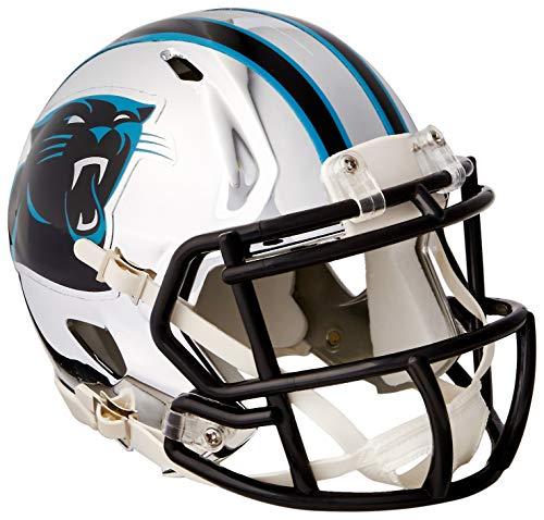 Riddell Mini Football Helm - NFL Chrome Carolina Panthers