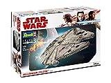 Revell Solo Maqueta Star Wars Millennium Falcon Con Kit Modelo, multicolor, 1:72 Scale (6718)...