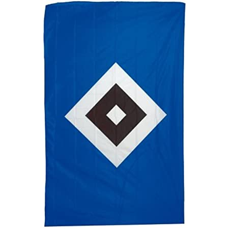 Flaggenfritze/® Aufn/äher Hamburger SV Raute 7 x 10 cm