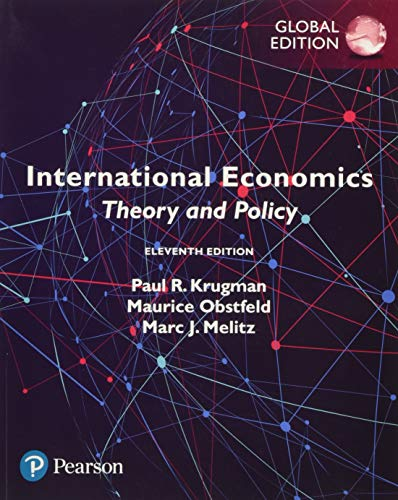 Compare Textbook Prices for International Economics: Theory and Policy, Global Edition English and French Edition 11th Edition ISBN 9781292214870 by Paul R. Krugman, Maurice Obstfeld, Marc Melitz