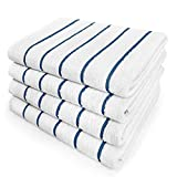 Kaufman - Terry Horizontal Sailor Stripes Beach Pool Towels - Set of 4 Pcs - 30in X 60in -...