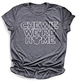 Rose gold Chewie we're home Flowy Tank, Star wars tank, shirts for women, Galaxy's edge tank, Chewbacca tank