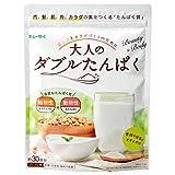 キューサイ 大人のダブルたんぱく/粉末タイプ/168g(約30食分) /砂糖・甘味料・香料不使用/低脂質/専用スプーン付