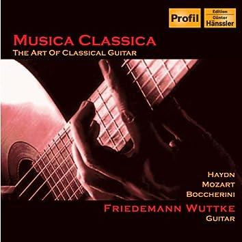 Wuttke: Haydn - Guitar Concerto in D Major / Mozart - Guitar Sonatina in C Major