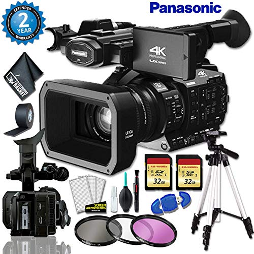 Best Review Of Panasonic AG-UX90 4K/HD Industry Camcorder + 32gb Memory Card Bundle + Gaffer Tape + ...