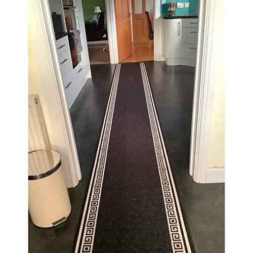 Amcerd Tappeto Runner per Corridoio, Cucina Tappeti Runner, Passatoia Multifunzione in Moquette, Dimensioni Personalizzabile per Soggiorno, corridoio, Cucina - 60x400cm