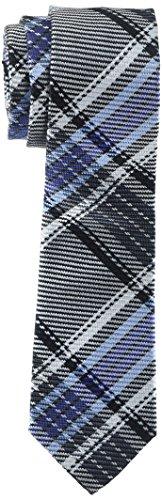 Seidensticker Herren Seidenkrawatte 7 cm breit Krawatte, Mehrfarbig (Blau 18), One Size (Herstellergröße