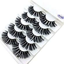 5 Pairs Mink Eyelashes 3D False Lashes Thick Crisscross Makeup Eyelash Extension Natural Volume Soft Fake Eye Lashes JKX80 5pairs