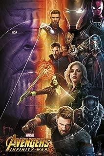 Grupo Erik Editores GPE5242 - Poster Los Vengadores Infinity War Marvel, 61 x 91,5 cm
