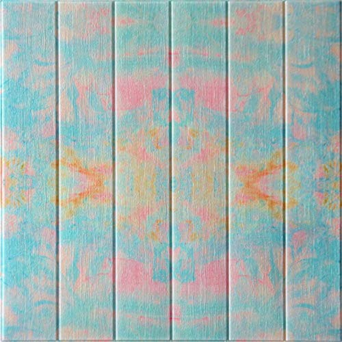 Piedra de Ladrillo Paneles de Pared Autoadhesivos Agustador 3D Faux Brick Stick Wall Azulejos Art Deco DIY Stair Tile Pegatina para la decoración interior de la pared, impermeable Fondo de pantalla de